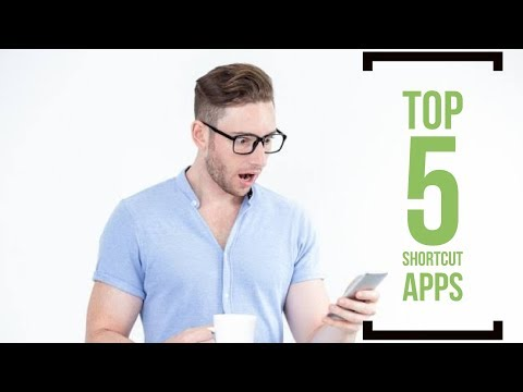 TOP 5 BEST SHORTCUT APPS FOR ANDROID & IOS