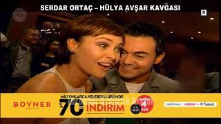 Aradın mı şarkısı yüzünden mahkemelik olan Serdar Ortaç ve Hülya Avşar nasıl barıştı? (1999)
