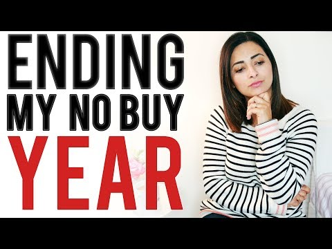 IS THIS THE END OF MY NO BUY YEAR?  No Buy April 2019 Update  Ysis Lorenna