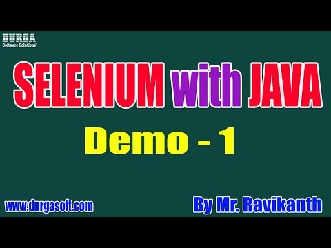 selenium-with-java-tutorials-||-demo---1-||-by-mr.-ravi-kanth-on-30-09-2019