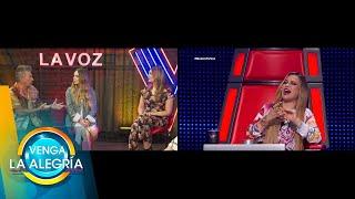 Coaches de La Voz platican desde cuándo sospecharon romance entre Belinda y Nodal.| Venga La Alegría