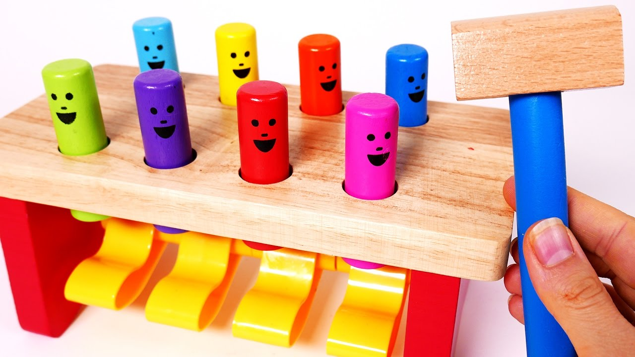 Learn Colors For Children Learning Toys For Kids Wooden