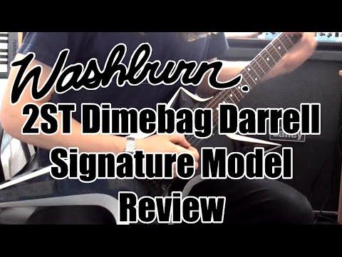 Washburn 2ST Dimebag Darrell Signature Model (Review/Demo)