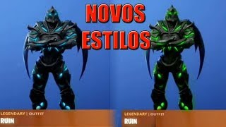 FORTNITE-ALL STAGES OF SKIN RUINA (EDITABLE)