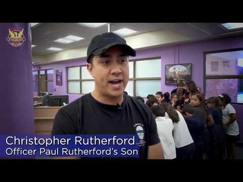Desert Horizon Elementary School Dedication Ceremony to Phoenix Police Officer Paul Rutherford