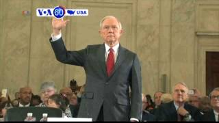 VOA60 America- Confirmation hearings begin with AG nominee, Alabama Senator Jeff Sessions