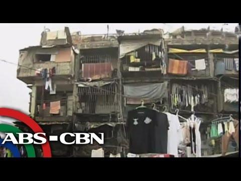 Cracks seen in Tondo housing project