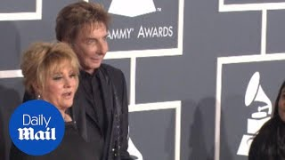 Barry Manilow and Susan Deixler at the Grammy's (archive) - Daily Mail