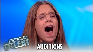 14 Year Old Sings Lady Gaga's Hit...Judges Jaw-Dropped!! | Ireland's Got Talent 2019