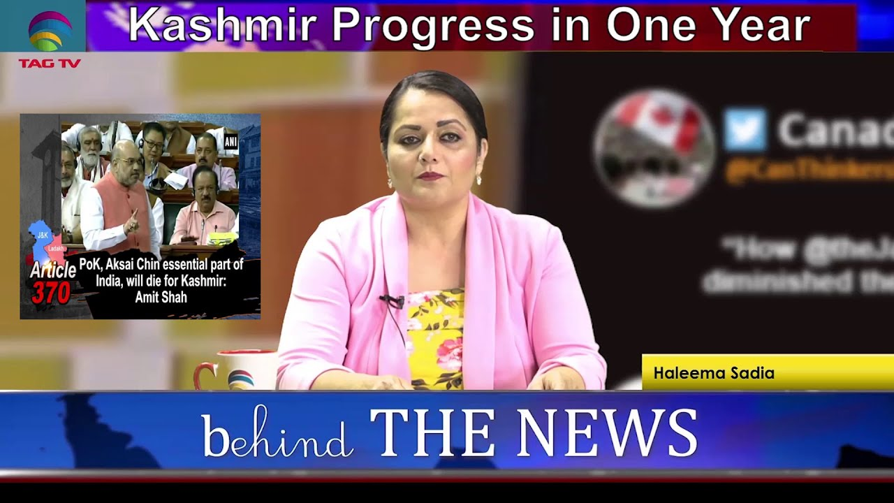 Both Kashmirs - A comparison of Indian and Pakistani Side on August 5th Anniversary -Behind The News