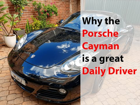 Why a used Porsche Cayman S is a great daily driver