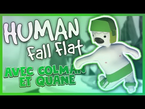 ILS SONT INSUPPORTABLES 😭 - Human: Fall Flat Ft. Colman