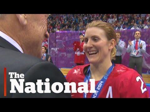Hayley Wickenheiser's life after hockey