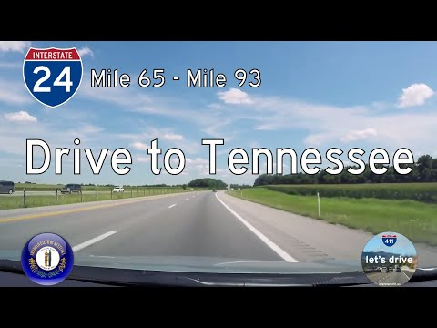 Interstate 24 - Mile 65 to Mile 93 - Kentucky |  Drive America's Highways 🚙