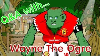 Q&A with Wayne! (Rooney parody interview by 442oons) Man Utd vs Man City preview 2015