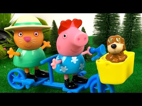 Peppa Pig Treehouse Playset ☀ La Casa del árbol Peppa Pig ☀ Peppa Tree House ☀ Peppa Pig Toy Review from YouTube · Duration:  7 minutes 11 seconds