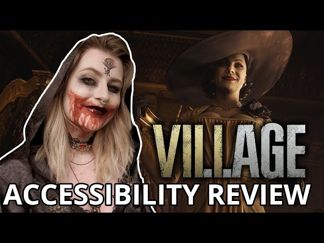 LYCAN PLAY THIS GAME | Resident Evil Village | Cognitive Accessibility Review