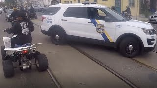 BIKELIFE VS COPS - Bikelife Police Chase Compilation #1 - FNF