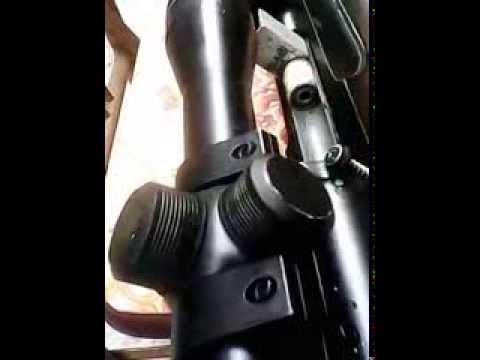 súng hơi tự chế - dùng để diệt chuột