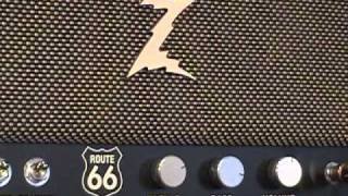 Dr Z Route 66 amplifier demo with Gibson SG & Z Best 212 cabinet