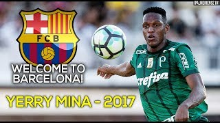 Yerry Mina - Palmeiras 2017 ● Defensive Skills, Tackles, Passes, Goals, Assists and Skills | HD