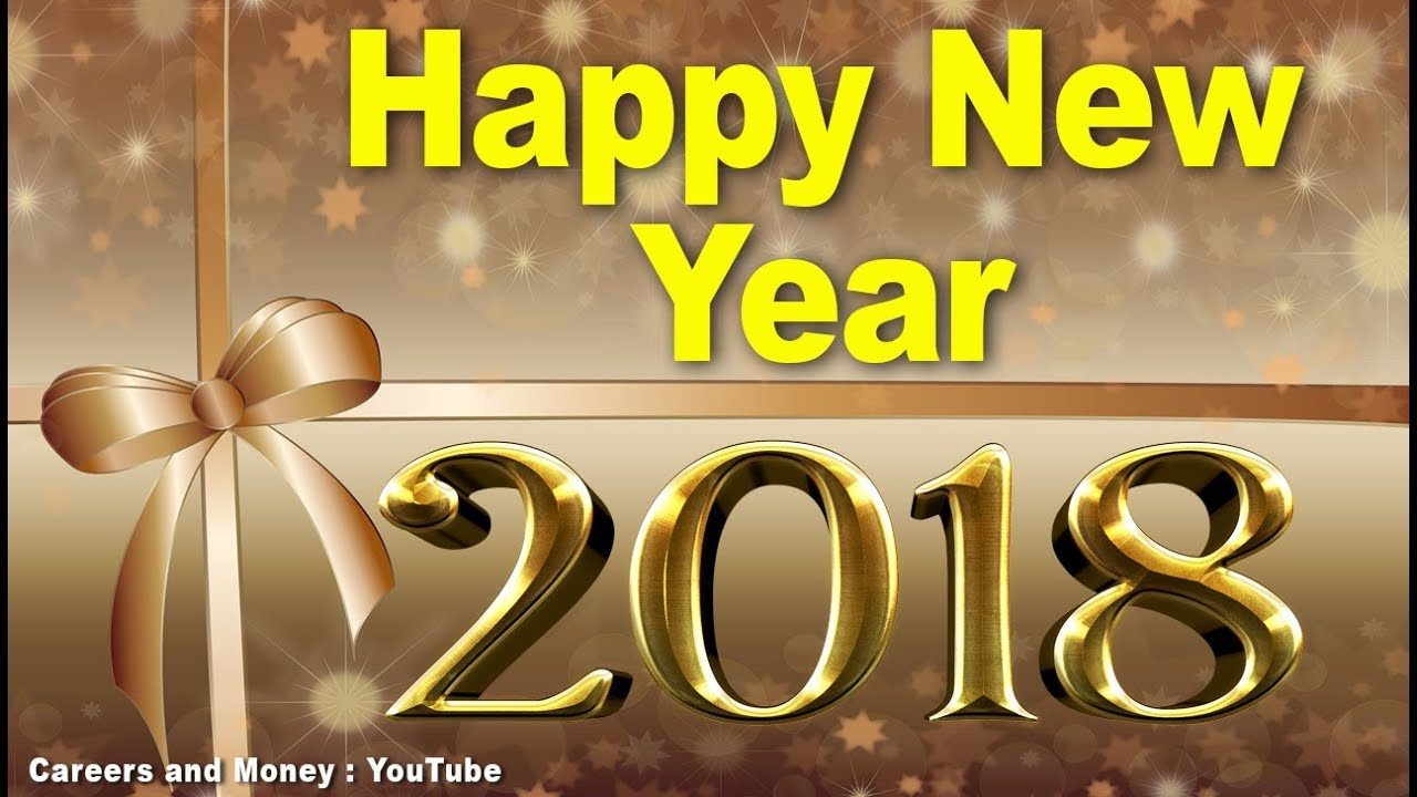 Happy New Year 2018 Greetings Sms Whatsapp Download Video Music
