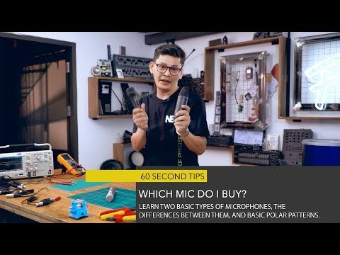 60 Second Tips | What Mic to Buy