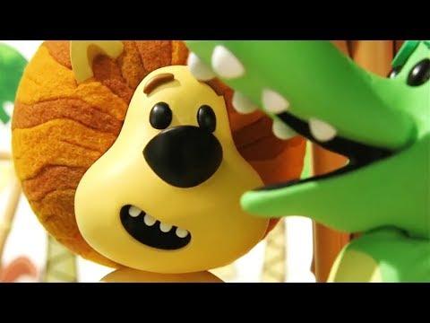 Raa Raa The Noisy Lion Official   Crocky's Wobbly Tooth   Cartoon For Children
