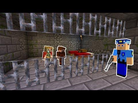 ARDA VE RÜZGAR HAPİSHANEYE GİRDİ! 😱 - Minecraft