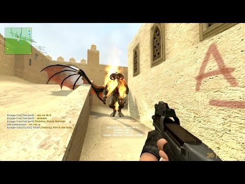 Counter-Strike Source Zombie Riot On Map De Dust2 All Days And BOSS Gameplay
