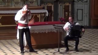 """Coragheasca'"" par Dorian GHEORGHILAS – Flûte de Pan et Philippe BORECEK – Accordéon"
