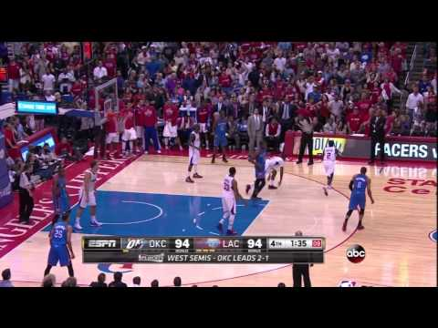 How Kevin Durant & Scott Brooks Lost Game 4 vs Clippers