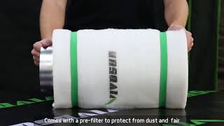 VIVOSUN 6 Inch Air Carbon Filter Odor Control with Australia Virgin...