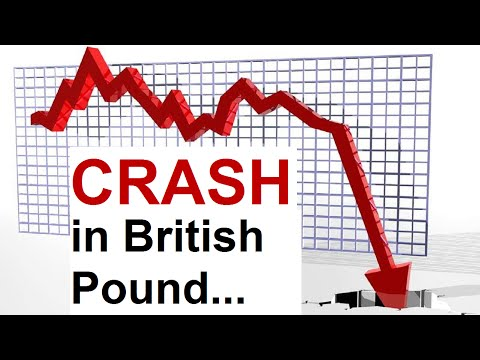 Crash In British Pound And Brexit - How Low Will GBPUSD Go?