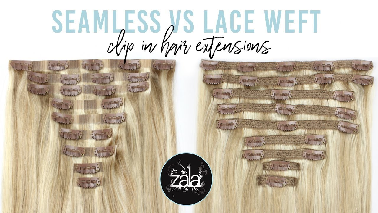 The Difference Between Seamless And Lace Weft Clip In Hair