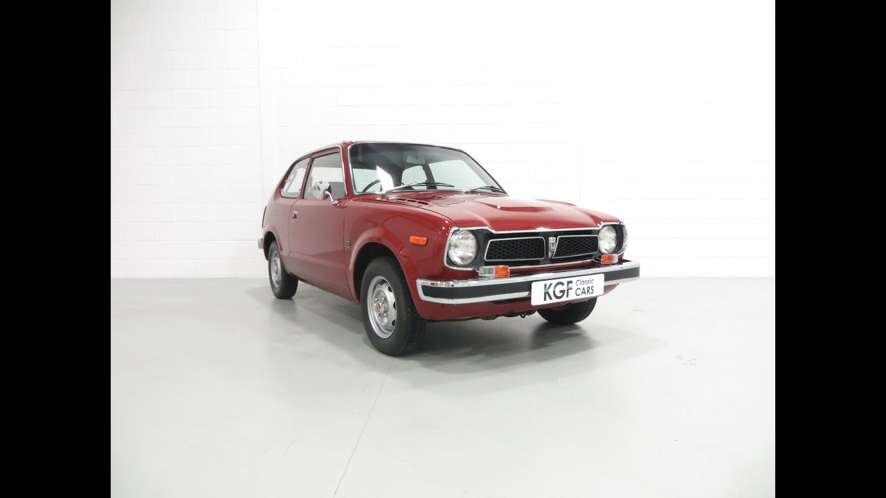 A Delightful Early Mk1 Honda 1200 Civic Deluxe With An
