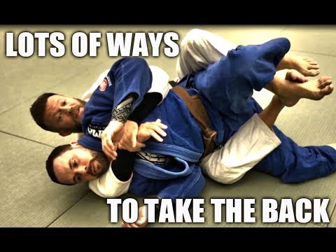 Jiu-Jitsu Techniques | Lots of Ways to Take The Back - Basic & Not-So-Basic