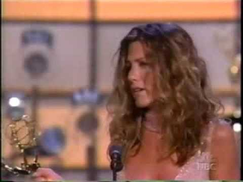 Jennifer Aniston Wins 2002 Emmy Award For Lead Actress In A Comedy