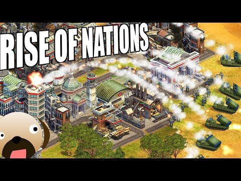 BRUTAL RUSSIAN OFFENSIVE - Rise of Nations Extended Edition Gameplay