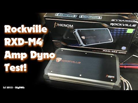 Rockville RXD-M4 1500W Monoblock Amp Dyno Test