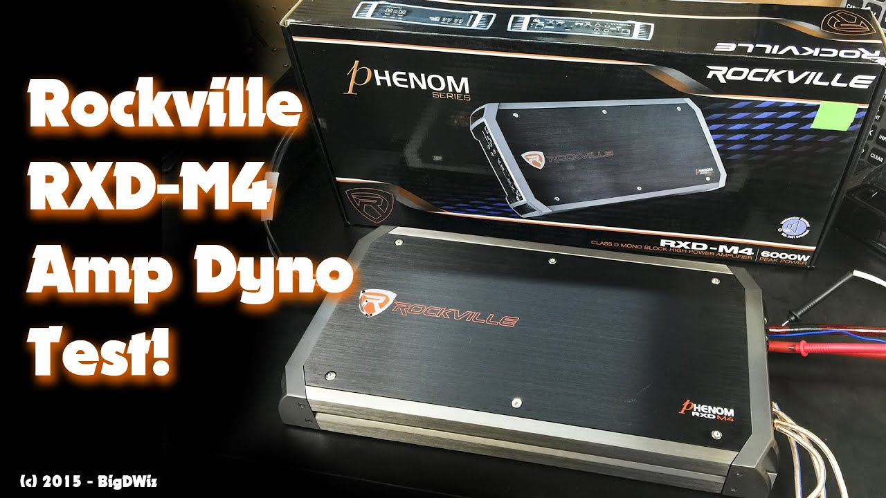 Rockville Rxd M4 1500w Monoblock Amp Dyno Test Youtube Autotek Wiring Diagram