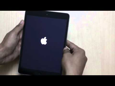 "How To Solve ""No Display"" or ""Black Screen"" Problem On iPad (iPad Mini)"