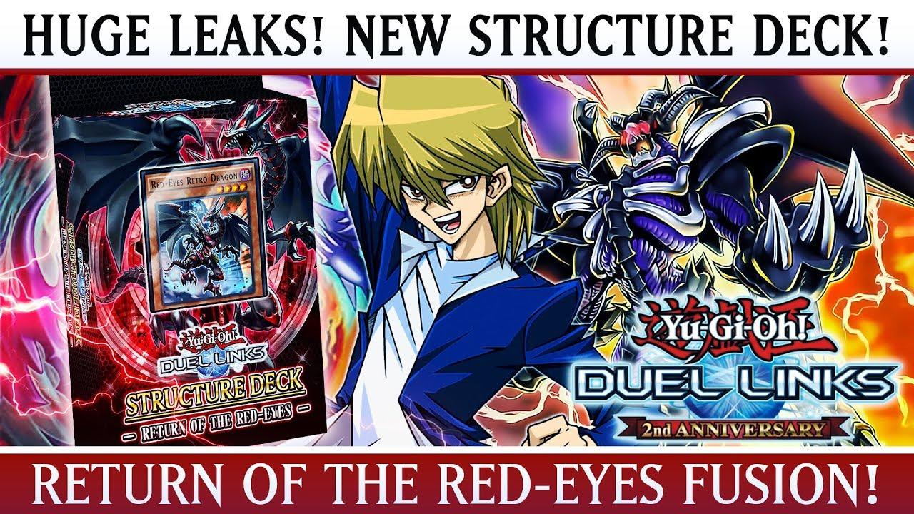 Yu Gi Oh Duel Links Huge Leaks Structure Deck Return