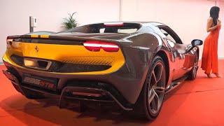 Ferrari 296 GTB ! Découvrez son V6 Hybride de 830 chevaux !
