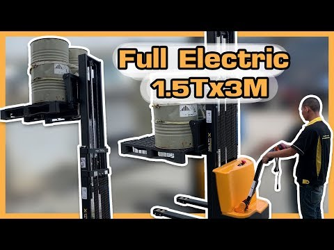 รถยกไฟฟ้า Full Electric ยกหนัก 1.5ตัน ยกสูง 3เมตร