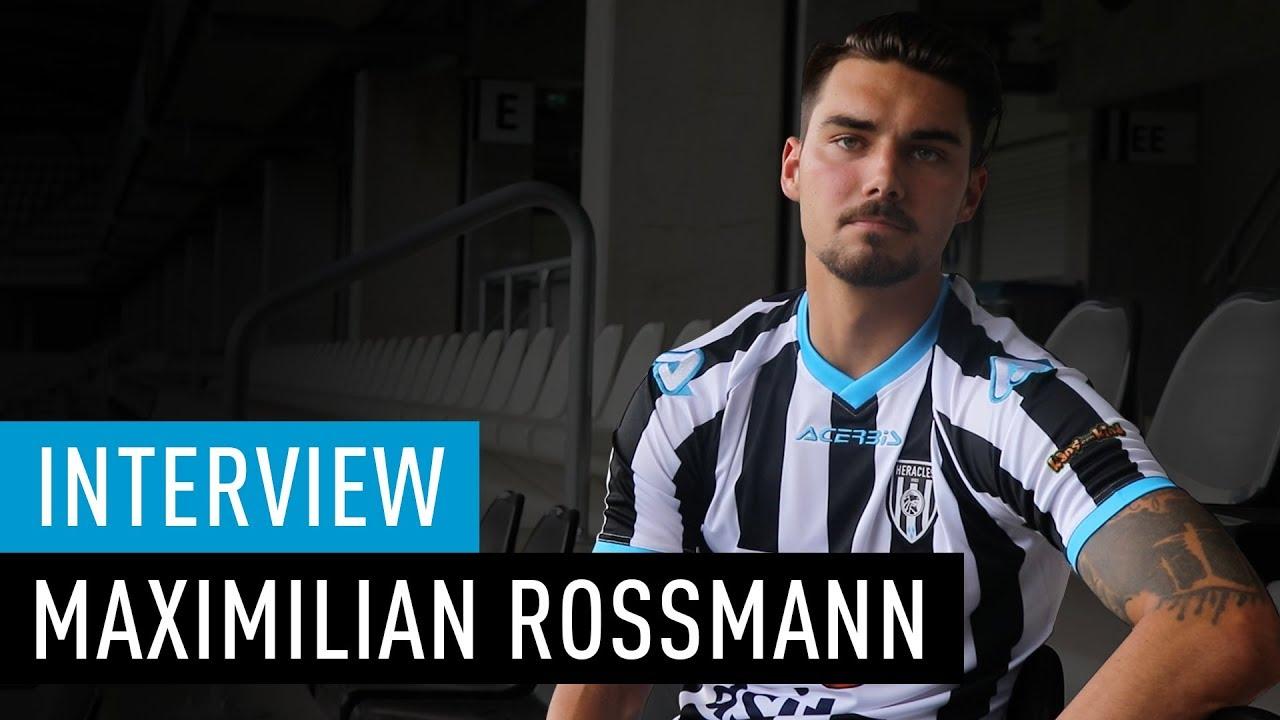 Maximilian Rossmann tekent tweejarig contract bij Heracles Almelo