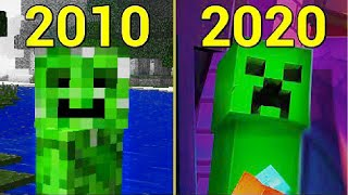 Evolution of Creeper 2010-2020