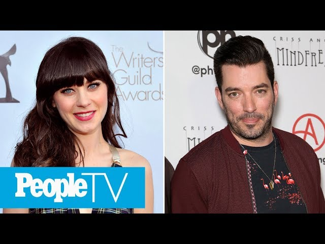 Zooey Deschanel And Jonathan Scott 'Bonded Over Music,' Says Source\: 'She's Really Happy' | PeopleTV