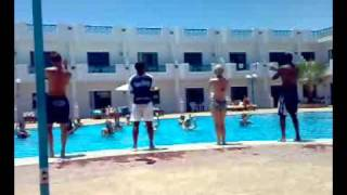 opa opa on the pool by animation team @ sharm cliff resort ( sharm el-sheikh ) شرم الشيخ