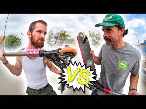 Sean Cardwell VS Dan Barrett - Game of V.A.U.L.T. │ The Vault Pro Scooters